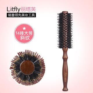 Boar Bristle Round Hair Brush 1 pc