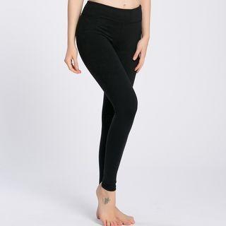 Plain Yoga Pants 1057307573