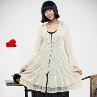 Picture of CHANNEL9 Long-Sleeve Tiered Hem Dress 1022326357 (CHANNEL9 Dresses, Womens Dresses, South Korea Dresses, Long-Sleeve Dresses)