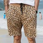 Leopard Print Shorts 1596