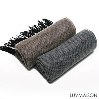 Buy LUVMAISON Herringbone Knit Scarf 1021920271