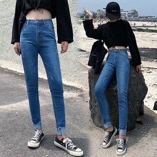 High-waist | Skinny | Jean