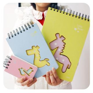 Horse Cutout Small Notebook 1036442255