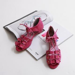 Buy HARU Lace-Up Sandals 1022552585