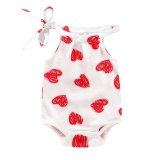 Baby Print Halter Bodysuit