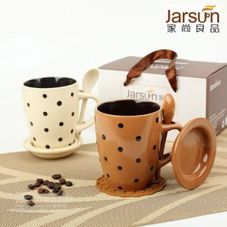 Print Cup with Spoon