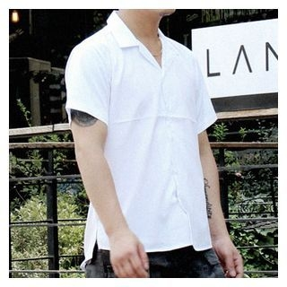 V-Neck Short-Sleeve Shirt 1060716034