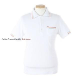 Buy Yellow Jacket Stripe-Accent Polo Shirt 1022594305