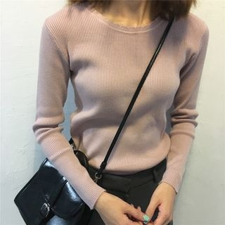 Ribbed Knit Top 1053743553