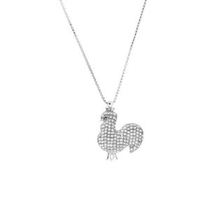 12 Zodiac Collection - Royal Rooster With Necklace Royal Rooster - One Size