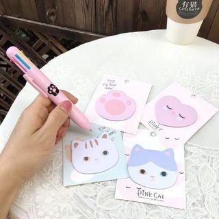 Set of 4: Cat Sticky Notes 1063429978