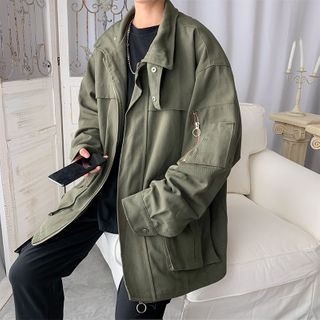 Image of Utility Zip Jacket