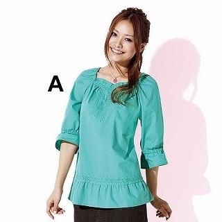 Buy SmileLand 3/4-Sleeve Lace-Trim Top 1023001190