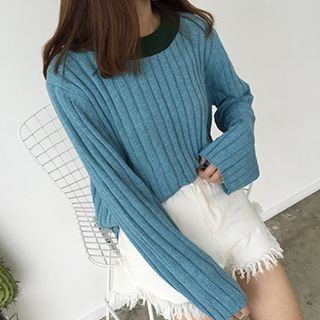 Ribbed Knit Top 1053034526