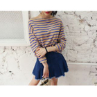 Boatneck Stripe Top от YesStyle.com INT