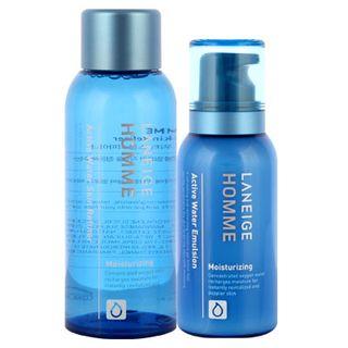 Laneige - Homme Active Water Set : Skin Refiner 150ml + Emulsion 125ml 1038505361