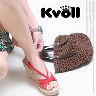 Buy Kvoll Strappy Wedges 1022533156