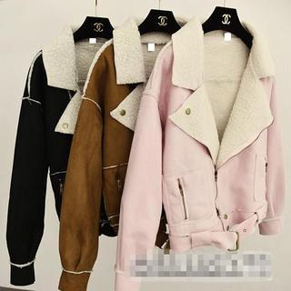Fleece Lined Lapel Jacket