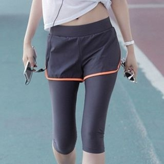 Legging Inset Sport Shorts / Sport Shorts 1050595664