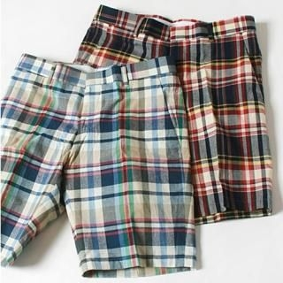 Picture of MITOSHOP Check Shorts 1022986308 (MITOSHOP, Mens Pants, Korea)