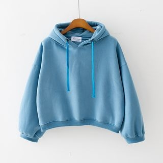 Fleece Lined Plain Hoodie 1053815650