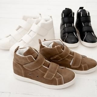 Picture of Cookie 7 Velcro High-Top Sneakers 1022101330 (Sneakers, Cookie 7 Shoes, Korea Shoes, Womens Shoes, Womens Sneakers)