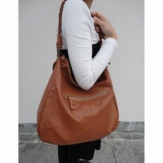 Picture of anello Perforated Hobo Bag Camel - One Size 1022806467 (anello, Hobo Bags, Japan Bags, Womens Bags, Womens Hobo Bags)