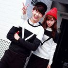 Set: Couple Contrast Block Pullover + Pants от YesStyle.com INT