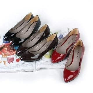 Buy NamuDDalgi Point Toe Patent Pumps 1021297778