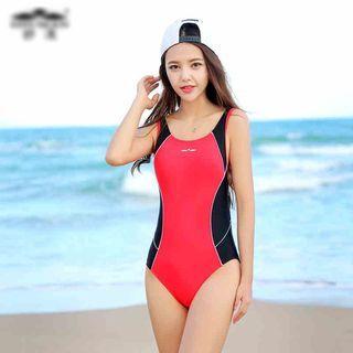 Color Block Swimsuit 1048929638