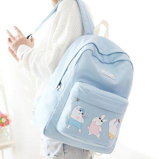 Backpack | Animal | Canvas | Print