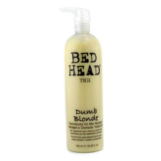 Buy Tigi – Bed Head Dumb Blonde Reconstructor For After Highlights (Damaged and Chemically Treated Hair) 750ml/25.36oz