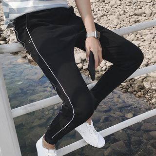 Contrast Trim Sweatpants 1063446680