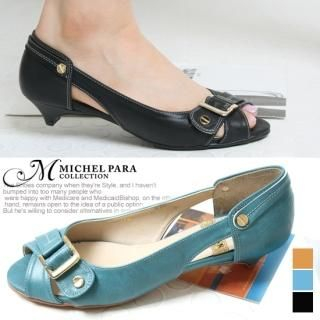 Buy MICHEL PARA COLLECTION Belt-Accent Pumps 1022550035