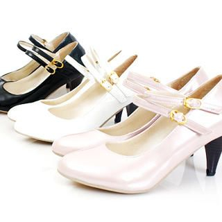 Buy KAWO Buckled Patent Pumps 1022759999