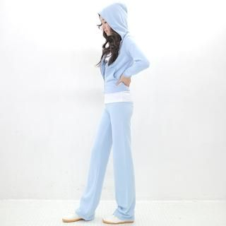 AKA Set Hoodie + Sweat Pants 1022291221 | Womens Asian Apparel