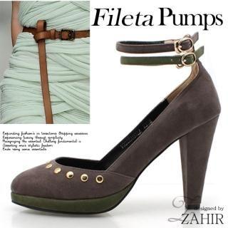 Buy ZAHIR Ankle Strap Platform Pumps 1022065250