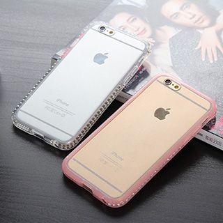 Rhinestone Transparent Case for iPhone 6 / 6 Plus