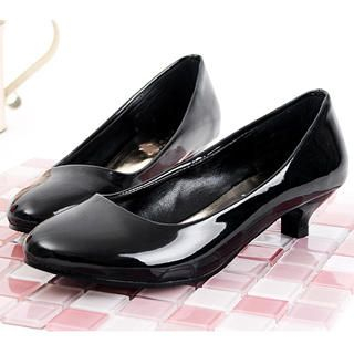 Picture of KAWO Patent Kitten-Heels 1022774524 (Other Shoes, KAWO Shoes, China Shoes, Womens Shoes, Other Womens Shoes)
