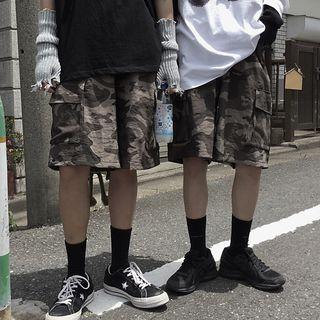 Image of Cargo Camo Shorts