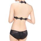 Set: Lace Strapped Bra + Panties 1596