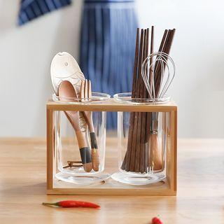 Glass Chopsticks Holder Set 1058583898