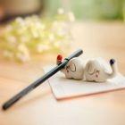Set of 2: Elephant Chopstick Rest 1596