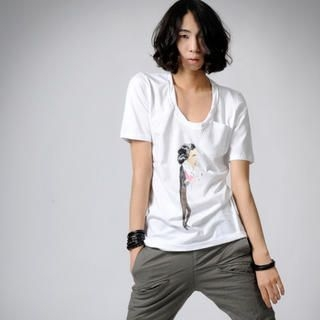 Picture of deepstyle Printed T-Shirt 1022767881 (deepstyle, Mens Tees, South Korea)