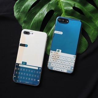 Keyboard Mobile Case - iPhone X / 8 / 8 Plus / 7 / 7 Plus / 6S / 6S Plus 1064427540