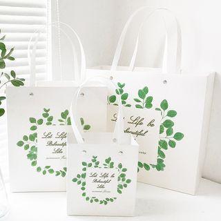 Print | Gift | Leaf | Bag
