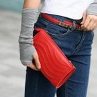 Convertible Cutout Clutch Red - One Size