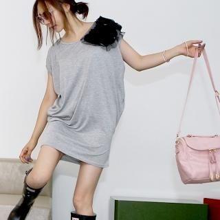 Buy pinkdiamond Rosette Detail Minidress 1023010173