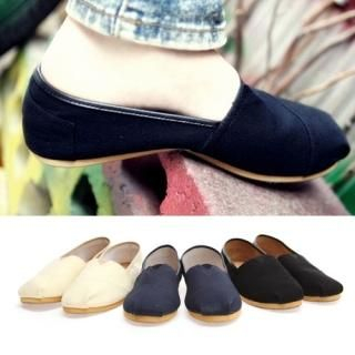 Buy Portfranc Canvas Slip-Ons 1022734564
