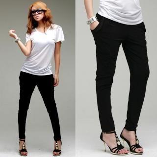 Buy LCLOTHES Elastic-Waist Pants 1022959702